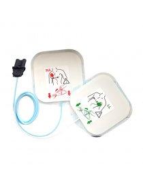 Paire d'électrodes pour adulte pré connectée - SAVER ONE